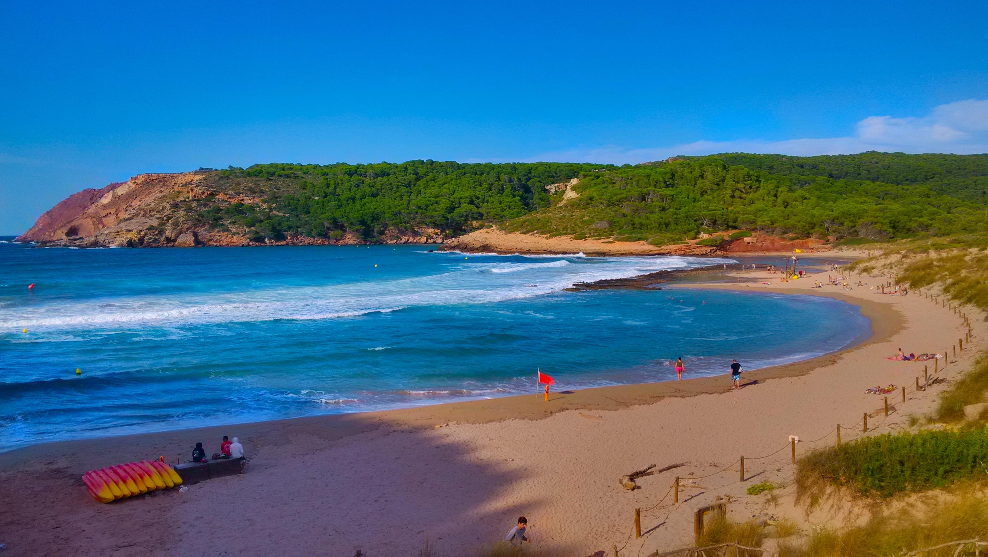 Красивые пляжи испании фото